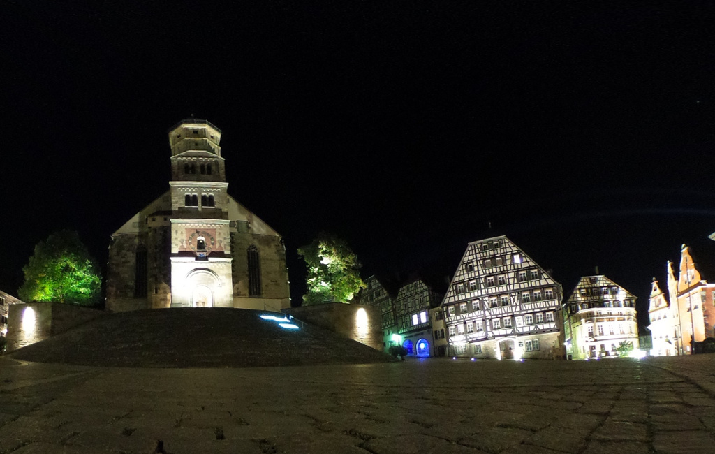 Erlangen kaj Schwäbisch Hall
